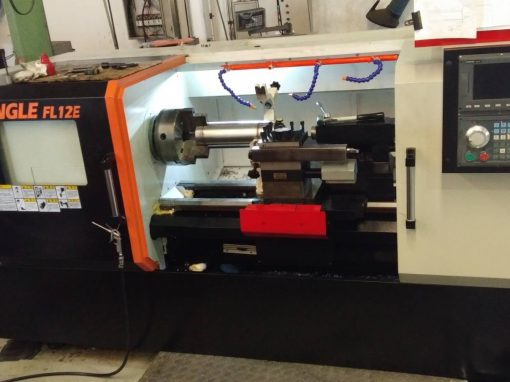 Flat-bed CNC Lathe Machine: Angle-FL12E/1500